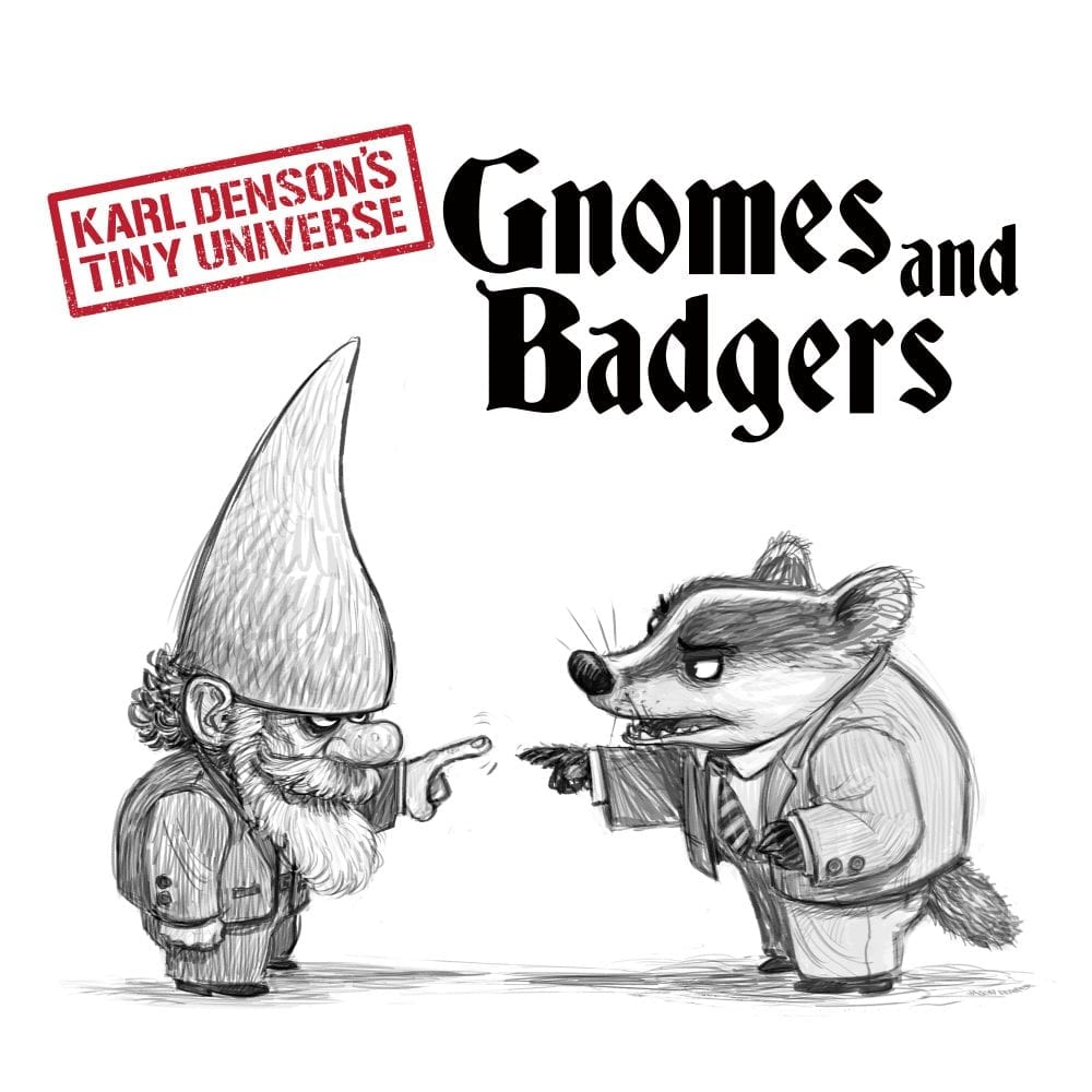 KDTU – Gnomes Badgers Cover Art